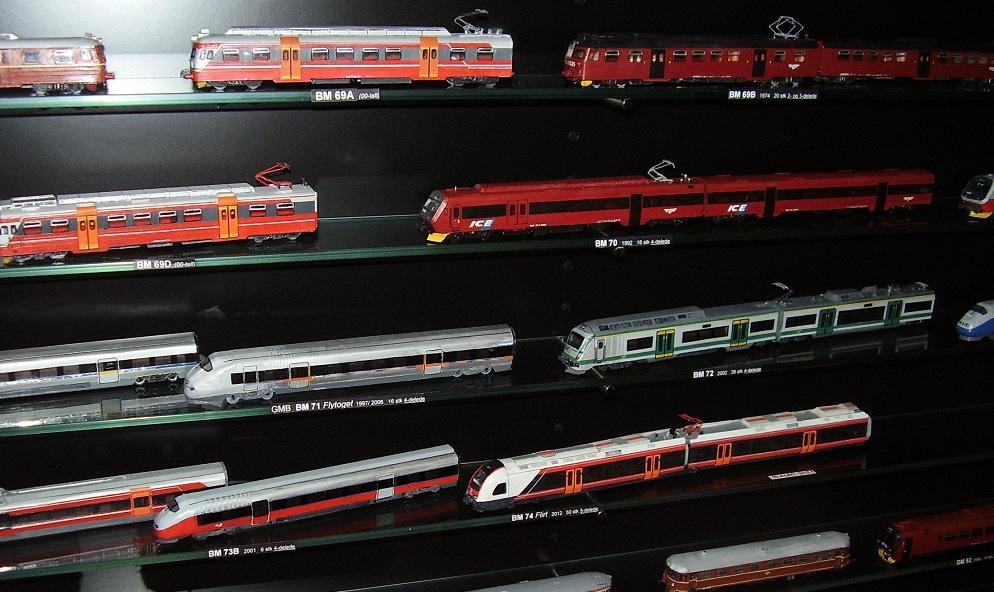 NSB multiple units (Railway Museum in Hamar)